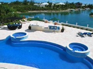 Rafters on pristine grounds facing the canal with pool- jacuzzi & dock - Providenciales vacation rentals