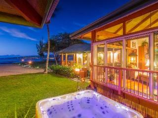 Paradise at Puako Hylton Beachfront Villa with Home Theatre and Jacuzzi - Puako vacation rentals