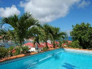 Spacious Le Marlin offers beautiful sunset and harbor views, pool & US Satellite - Saint Barthelemy vacation rentals