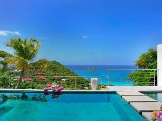 Contemporary and chic Villa Casaprima with overflow pool overlooking the bay - Colombier vacation rentals