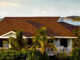 Bluemoon Villa at Fowl Cay on private island with pool, golf cart & tennis court - The Exumas vacation rentals