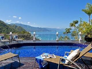 Multi-level Casa Aventura with private ocean view terraces, heated pool, cook twice daily - Puerto Vallarta vacation rentals