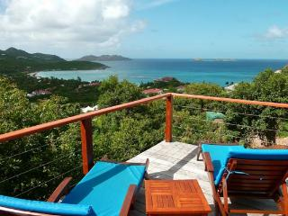 Located on the hillside with outstanding views and close to the beach WV AQU - Saint Barthelemy vacation rentals