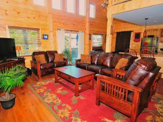 Beautiful New Log House - 4 bedrooms sleeps 10-12 - Lake Placid vacation rentals