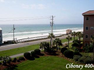Ciboney 4004 is Right Across the Street from the Beach~FREE Golf & Fishing!! - Miramar Beach vacation rentals