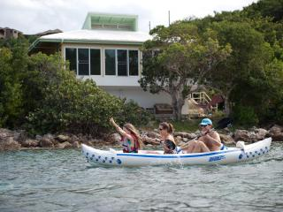 Hike to the Beach! Swim-Snorkel-Kayak steps away! - Chocolate Hole vacation rentals