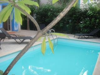 MACASSI 2... darling villa just 450 feet to fun filled Orient Beach - Orient Bay vacation rentals