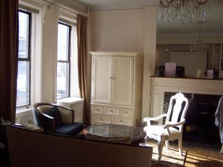 Brownstone: quiet, sunny 1 BR, well equipped kit. - New York City vacation rentals