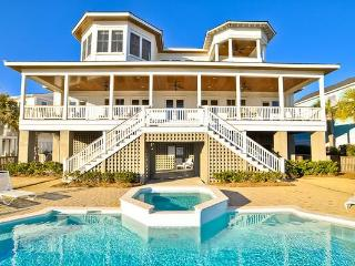 Luxurious 6 Bedroom, Ocean Front with Pool & Spa! - Charleston Area vacation rentals