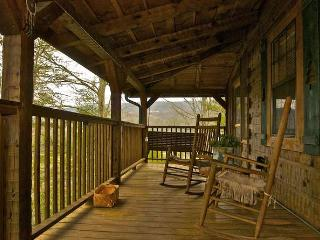 Buy 5 Nights or More Get 1 Free! Romantic, Private & Peaceful Log Cabin w/Fishing Pond, Pool Table & More - Sevierville vacation rentals