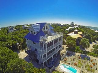 Captiva Beach Sunset-New Gulf Front 5 BR w/ Pool - North Captiva Island vacation rentals