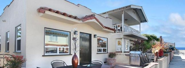 Exterior of 128 39th Street - Balboa Pearl - 8 Houses From The Sand!! - Newport Beach - rentals