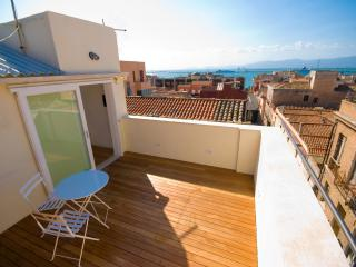 Luxury Penthouse with View on the Sea - Cagliari vacation rentals