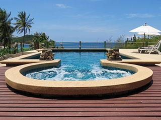 Jacuzzi and Pool - Dee Dee Villas - Koh Phangan - rentals