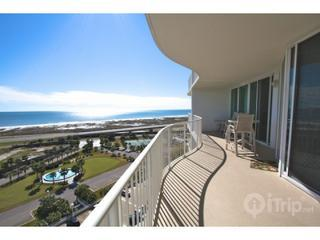 balcony view to the east - Caribe B-1111 - Orange Beach - rentals