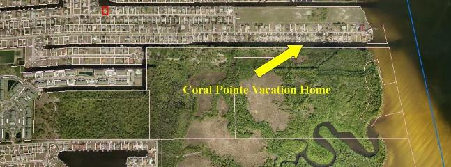 Coral Pointe Overlooks a 365 Acre Natural Preserve - Nature Lover's Direct Gulf Access Waterfront Home - Cape Coral - rentals
