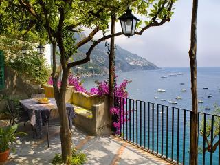 Villa Gaia terraces and sea view  in  Positano - Sorrento vacation rentals