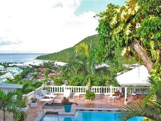 VILLA JOELLE... a truly unique luxury villa made for entertaining, great views and very tropical location - Anse Marcel vacation rentals