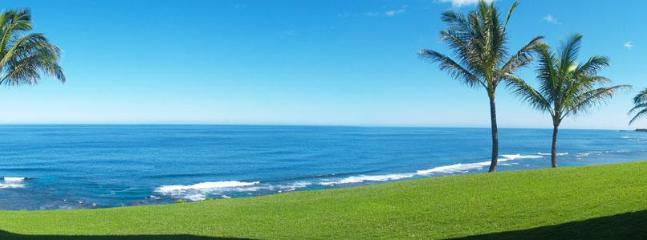 View from most rooms - Sealodge C3 Oceanfront with Unbeatable Ocean Views - Princeville - rentals
