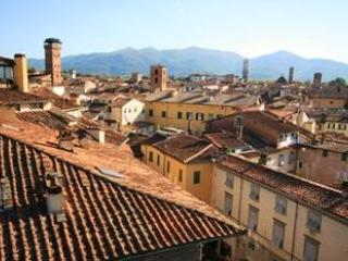 taken from one of 3 terraces, the 360 view is like this in all directions - Deluxe Lucca Historical Center Apartment - Lucca - rentals
