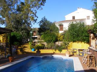 Large pool and private entrance to studio - La Paz Farmhouse Studio with private 9m x 4m Pool - Comares - rentals