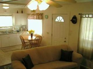 Living room toward kitchen - 2 BR/1 1/4BA Duplex Unit - Seaside - rentals