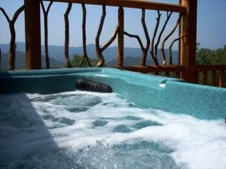 Peace of the Mountain -- Hot Tub, Air Hockey & Billiards at This Real Log Cabin - Bryson City vacation rentals