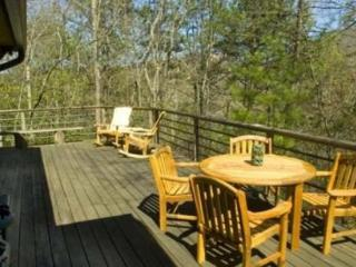 Laurel Branch - Private Log Cabin with Foosball Table and Hot Tub - Bryson City vacation rentals