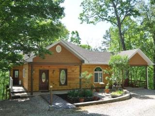 Ridge Runner Retreat -- Elegant Rental Cabin with Hot Tub, Mountain View, 2 Fireplaces, & Wi-Fi - Bryson City vacation rentals