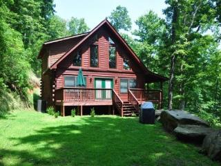 Morning Sun Retreat -- Gorgeous All-Wood Cabin with Wi-Fi, Jetted Tub, Fire Pit and More! - Bryson City vacation rentals