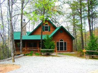The Chalet at Battle Branch -- Hot Tub, Mountain View, Wooded Seclusion, and Jetted Bath Tub - Bryson City vacation rentals