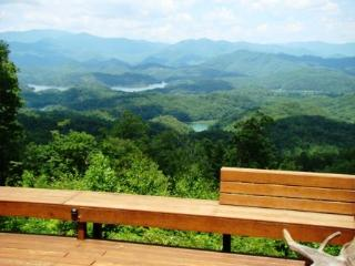 Smoke Rise Cabin - Upscale Rental with Unforgettable Mountain and Lake View - Bryson City vacation rentals