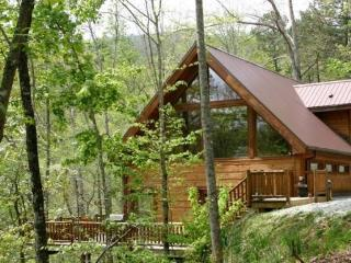 White Tail Hollow - Elegant Rental Cabin with Wi-Fi and Hot Tub Minutes from Rafting - Bryson City vacation rentals