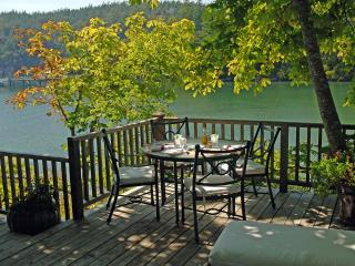 Idyllic Historic Waterfront Cottage, Private Beach - Deer Harbor vacation rentals