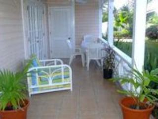 Outdoor Patio Area - Apartment 211A1, South Finger, Jolly Harbour - Jolly Harbour - rentals