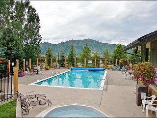Nicely Refurnished & Upgraded - Hardwood, Slate, 2 Futons (4158) - Steamboat Springs vacation rentals