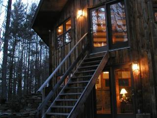 Unique mountain retreat; 40 secluded/wooded acres. - Hudson Valley vacation rentals