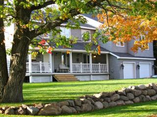 New waterfront Saint John river home, private dock - New Brunswick vacation rentals
