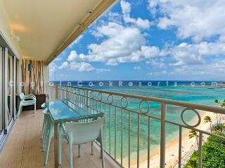 Waikiki Shore #1302 - Luxurious Beachfront 2 Bedroom Condo - Sleeps 4 - Perfect for 2 Couples- - Honolulu vacation rentals