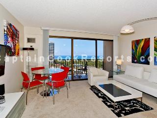Four Paddle #1804 - Amazing ocean and sunset views from this modern, high floor 1-bedroom condo! - Honolulu vacation rentals