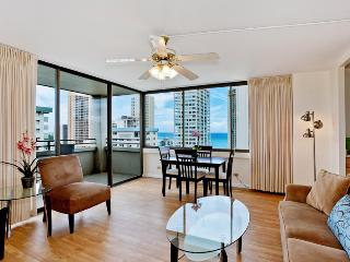 Waikiki Skytower #2303 - One bedroom vacation rental, washer/dryer, WiFi, pool & parking! - Waikiki vacation rentals