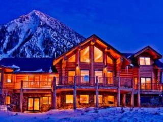 7th Night FREE! Gorgeous Log Home with Hot Tub! - Crested Butte vacation rentals