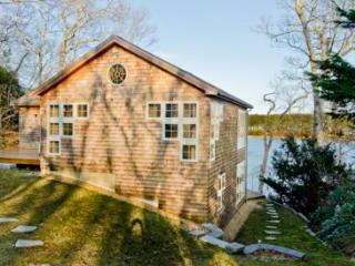 WATERFRONT RETREAT: SLEEK COTTAGE STYLING ON THE LAGOON - VH DSHE-45 - Vineyard Haven vacation rentals