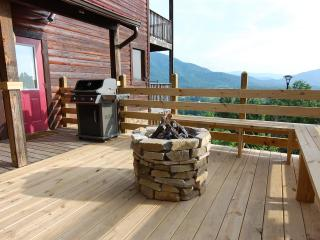 Semi Secluded 3 BR  Cabin,30 Mile View,Fire Pit, - Wears Valley vacation rentals