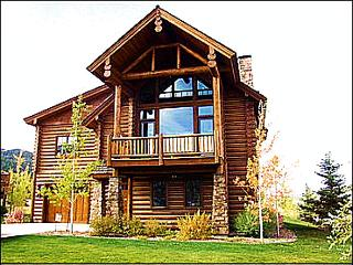 Brand New Immaculate Log Home  - Luxurious Quality - Huge Rooms (6183) - Wyoming vacation rentals