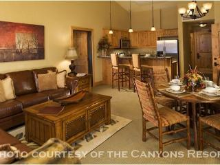 Silverado 1 Bedroom: The Best Value of the Canyons-Owned Condos—200 Yards from the Lift - Park City vacation rentals