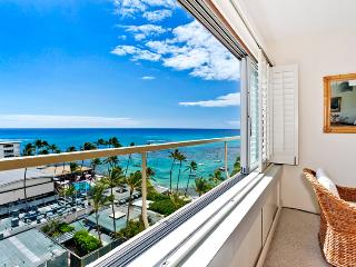 Colony Surf #908 - Beautiful Ocean and Diamond Head views from this Gold Coast beauty! - Waikiki vacation rentals