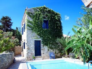 Beautiful luxurious stone Villa Sofas private pool - Crete vacation rentals
