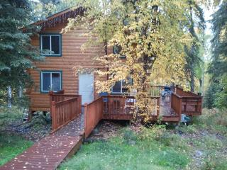 Secluded 2 bedroom log cabin - Alaska vacation rentals