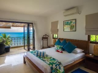 Elegant 3 bedroom beachfront self-catering duplex - Mahe Island vacation rentals